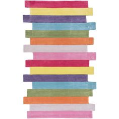 Mod Stripes Area Rug in Multi design by NuLoom (€200) ❤ liked on Polyvore featuring home, rugs, backgrounds, filler, nuloom, polyester rugs, nuloom area rugs, striped area rugs and modern rugs