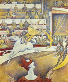 Georges Seurat - Le cirque