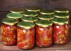 Botwinka do słoików na zimę - Obżarciuch Salsa, Mason Jars, Apple, Food, Kitchen, Jewels, Cooking, Meal, Salsa Music