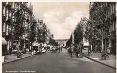 1937 - 1940. View of the Sumatrastraat in Amsterdam-Oost. Photo John Haen. #amsterdam #1940 #Sumatrastraat