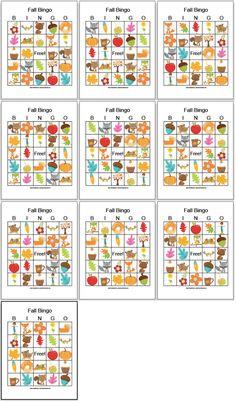 Free Printable Fall Bingo (low-prep family fun!)