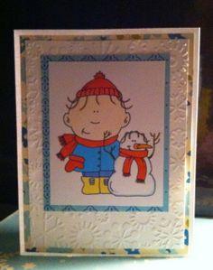 Hambo Christmas Card