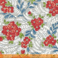 Hazel yardage for my Cora quilt backing? from Lou Lou's fabric shoppe--and I have a gift cert!