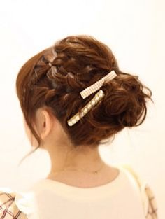 THE DOUBLE BRAID UPDO