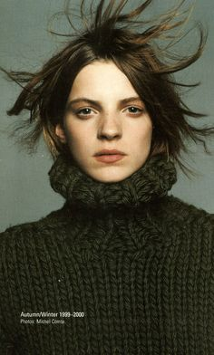 cotonblanc:  fall-winter 1999-2000, dirk bikkermbergsbelgian fashion design