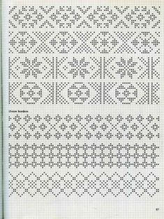 Alice Starmore Book of Fair Isle Knitting — Яндекс. Punto Fair Isle, Motif Fair Isle, Fair Isle Chart, Fair Isle Pattern, Fair Isle Knitting Patterns, Knitting Charts, Knitting Stitches, Knitting Designs, Cross Stitch Borders