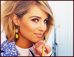 Dianna Agron - love the makeup and hair