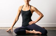 5 Mind-Blowing Hip Stretches to Relieve Tightness Now: Supine Lateral Hip Opening: Seated Fourth Position Hip Stretch