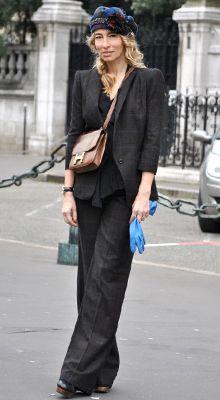 Paris Street Fashion | Paris Fashion Week 2013 Street Style Parisian chic Global Blue