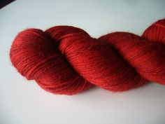 Little Red - Little Red Riding Hood (First Ever Stocking) Sock Yarn, Red Riding Hood, Little Red, Yarns, Stockings, Wool, Socks, Panty Hose, Sock