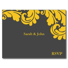 >>>Low Price          Damask Slate Grey and Strong Yellow RSVP Post Card           Damask Slate Grey and Strong Yellow RSVP Post Card so please read the important details before your purchasing anyway here is the best buyDeals          Damask Slate Grey and Strong Yellow RSVP Post Card Onli...Cleck Hot Deals >>> http://www.zazzle.com/damask_slate_grey_and_strong_yellow_rsvp_post_card-239358998462563919?rf=238627982471231924&zbar=1&tc=terrest