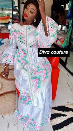 African Lace Styles, African Dresses For Women, African Wear, African Fashion Dresses, African Women, Hijab Fashion, Fashion Outfits, African Style, Kente Styles