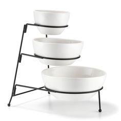 Ceramic bowls with metal stand, dishwasher safe. Regularly $19.99, shop Avon Living online at http://eseagren.avonrepresentative.com