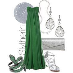 Slytherin inspired fashion