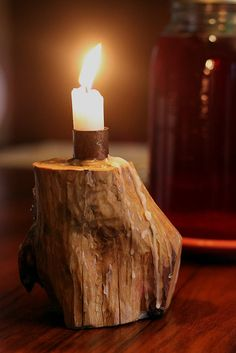 There's something about this candle holder I just love!