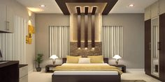 Prodigious Tricks: False Ceiling Design With Fan false ceiling bedroom wallpapers.False Ceiling Diy false ceiling design with fan. Ceiling Design Living Room, Bedroom False Ceiling Design, False Ceiling Living Room, Luxury Bedroom Design, Bedroom Furniture Design, Master Bedroom Design, Interior Design, Fall Ceiling Designs Bedroom, Bedroom Ideas