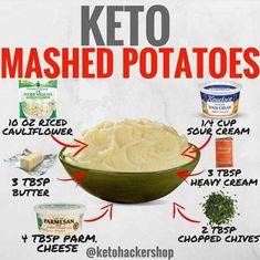 Keto mashed potatoes