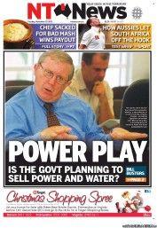 NT News 27-11-2012 Australia