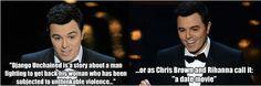 Seth MacFarlane, don't ever change!