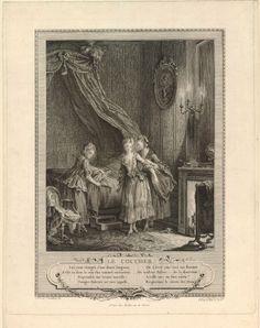 Le coucher, Jean-Michel Moreau le Jeune