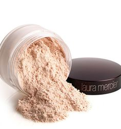 Beauty Tip: Powder should take away shine, but keep your glow. Only apply to oily areas (nose, chin, forehead)