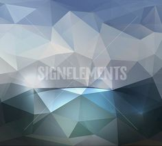 Abstract geometric background with triangular polygons. Vector. Colorful abstract vector. triangular geometric