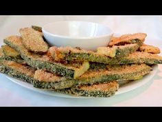 Ya no freirás calabacín # 328 - YouTube Zuchinni Recipes, Vegetable Recipes, Vegetarian Recipes, Cooking Recipes, Healthy Recipes, Spiral Slicer Recipes, Meals Without Meat, Veggie Fries, Baked Vegetables