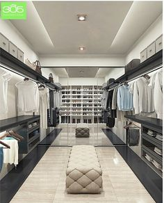 Great his and her closet