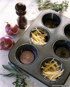 Potato and Onion Cakes