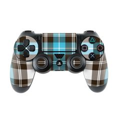 Sony Controller Skin - Pink Plaid by DecalGirl Collective Gamer's Guide, Gamer Setup, Ps4 Skins, Game Room Design, Ps4 Controller, Game Room Decor, Sony Playstations, Vibrant, Plaid