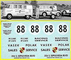 VW Transporter T1 Racing Service Vasek Po.