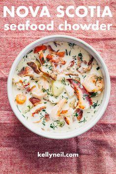 Seafood Soup Recipes, Seafood Stew, Seafood Dinner, Fish Recipes, Seafood Bisque, Best Seafood Chowder Recipe, Recipies, Frozen Seafood, Fresh Seafood
