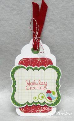 Holiday Greetings Tag