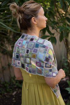Sophie Digard Manouche Scarf in Multi Crochet Squares, Crochet Motif, Crochet Shawl, Hand Crochet, Knit Crochet, Crochet Patterns, Yarn Projects, Crochet Projects, Textiles