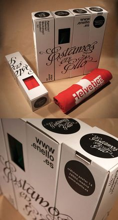 43 Creative T Shirt Packaging Designs | iBrandStudio