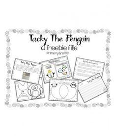 tacky the penguin freebie