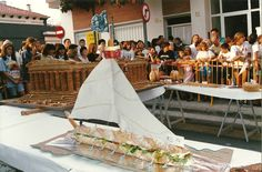 Concurs d'entrepans. Escultura gastronòmica. Un concurs que té més de quinze anys recuperat al 2012 #SQV
