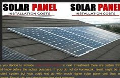 StumbleUpon is the easiest way to discover new and interesting web pages, photos and videos across the Web. Solar Panel Cost, Solar Panels, Solar Panel Installation, Solar Power, Outdoor Decor, Solar Panel Lights, Solar Energy, Sun Panels