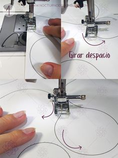 Costura paso a paso: 3 ejercicios básicos para aprender a coser a máquina. – Nocturno Design Blog Design Blog, Singer, Quilts, Sewing, Pattern, Easy, Scrappy Quilts, Learn To Sew, Sewing Lessons