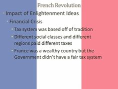 Social Class, French Revolution, France, French