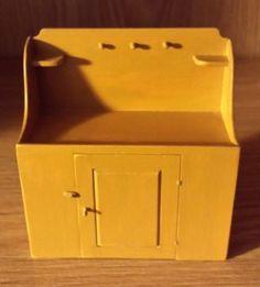 Renee Bowen Miniature Furniture Shaker Dry Sink Artist Signed RB