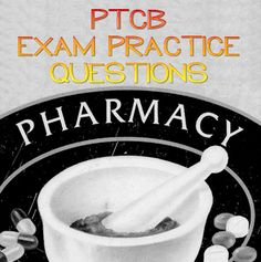 The PTCB exam is for those who are thinking about becoming a certified pharmacy technician. If you're thinking about becoming a certified pharmacy technician, you should take advantage of these PTCB exam practice questions to help improve your score on the PTCB exam. #ptcb #pharmacytech