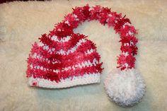 eine tolle lange Zipfelmütze <3 Rid, Winter Hats, Beanie, Facebook, Handmade, Shopping, Fashion, Amazing, Breien