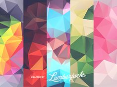 10 Free Low Poly Polygonal Textures