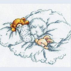 Best Friends - counted cross-stitch kit  RTO