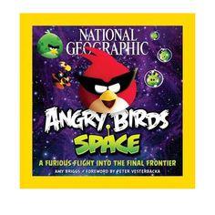Despega con los Angry Birds mientras vuelan por el espacio en una misión de rescate intergaláctico! Evil piggies espaciales han robado sus huevos y se los esconde en algún lugar en el espacio. Para salvarlos, los Angry Birds se han asociado con National Geographic para aprender todo lo que pueda acerca de los planetas, lunas, estrellas, galaxias, y los misterios del universo.