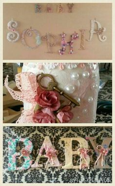 #shabby chic #baby shower Shower Party, Baby Shower Parties, Chic Baby, Shower Ideas, Decorative Boxes, Shabby Chic, Wedding, Home Decor, Diaper Parties