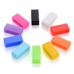 [New Version] Vastar® (10 pcs) 10 Colors Silicone Fas...