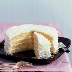 Coconut Cake   MyRecipes.com