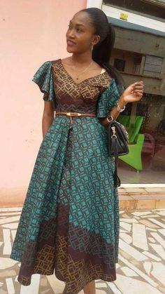 Trend Frauen Stile – Mode Femme et Styles Femmes African Fashion Ankara, Ghanaian Fashion, Latest African Fashion Dresses, African Print Dresses, African Print Fashion, African Dress, African Attire, African Wear, African Women